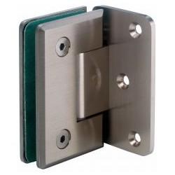Zawias (szkło - ściana 90°) mocowanie boczne