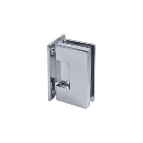 Zawias regulowany 90° (ściana - szkło)