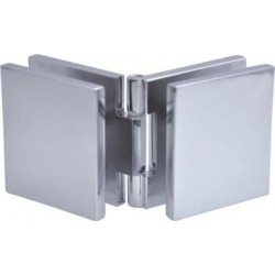 Klamra regulowana (szkło - szkło), h51mm