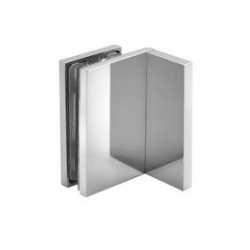 Klamra 90° (ściana - szkło)