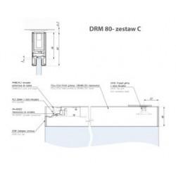 Zest.c - listwa montaż.drm80 z trzpieniem i zamk.