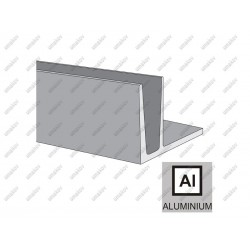 Profil balustrady szklanej al al-elox-satin, 3kn -