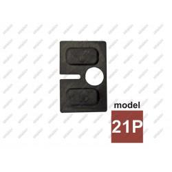 Uszczelka gumowa do uchwytu szkła 8,76mm model 21