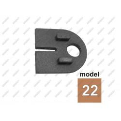 Uszczelka gumowa do uchwytu szkła model 22 t8,76-6