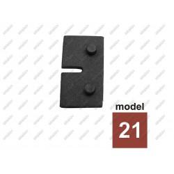 Uszczelka gumowa do uchwytu szkła 8mm model 20 t8-