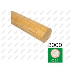Pochwyt dąb dub (oak), d42-l3000mm