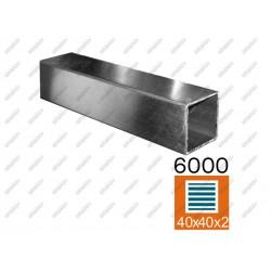 Profil szlif aisi304, jp40x40x2-l6000mm