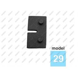 Uszczelka gumowa do uchwytu szkła 6mm model 29 T6/