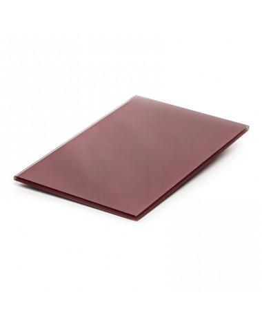 Lacobel czerwony dark RAL 3004