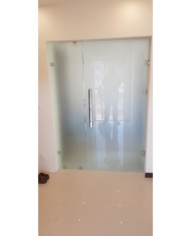 Drzwi szklane otwierane
