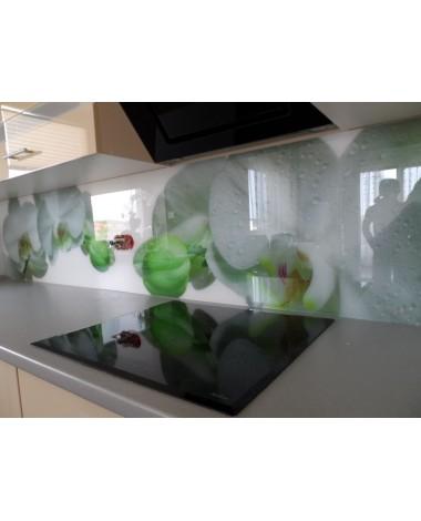 Szkło z grafiką w kuchni