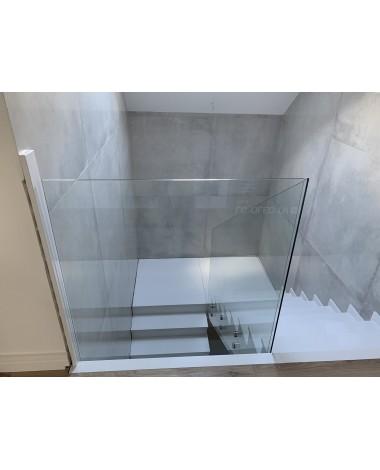 Szkło do balustrady 12mm bezbarwne hartowane