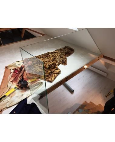 Szkło do balustrady 8mm bezbarwne hartowane